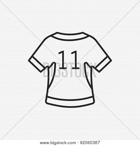 Sportswear Line Icon