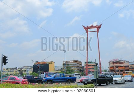 Giant swing Bangkok Thailand