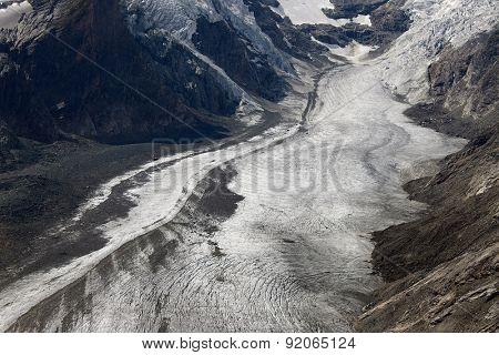 Glacier at Grossglockner, Austria