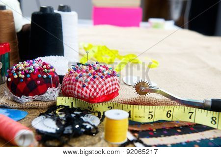 Set for the master tailor background