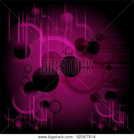 Abstract dark purple wave line backgroundtemplate