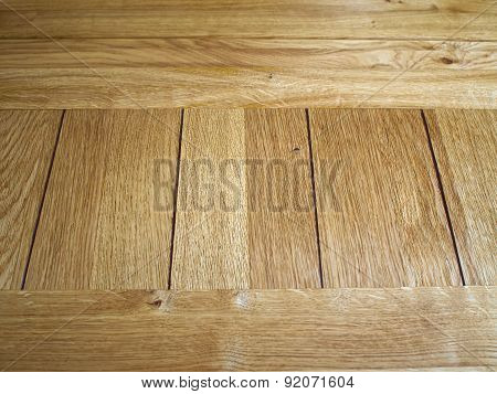 Oak Texture Wooden Board