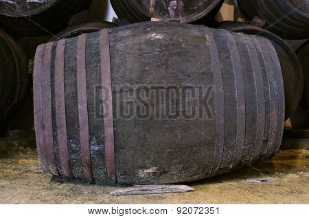 Barrel For Wine Or Whiskey