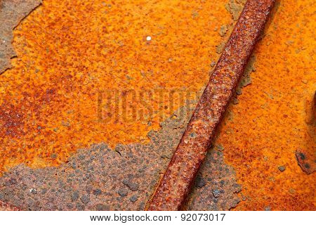 Iron Metal Surface Rust