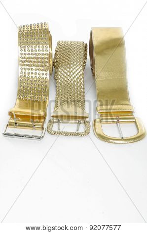 Three woman belt