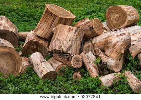 Wood Firewood Logs