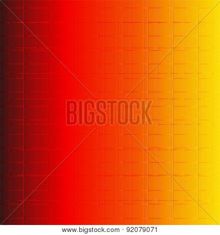 Grid orange bacground