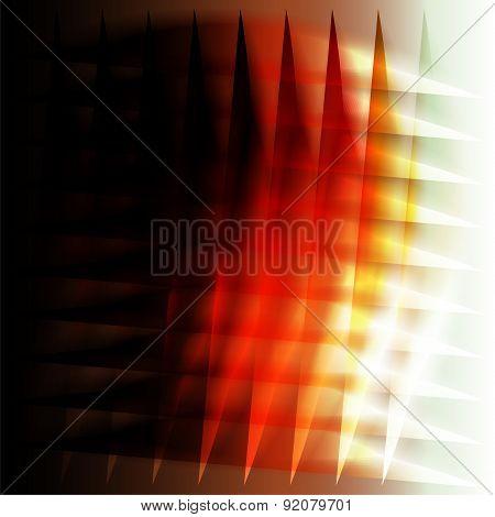 Orange grid background