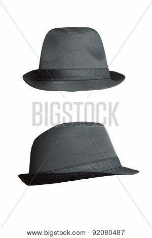 Fedory Hat Isolated