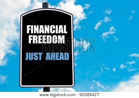 Financial Freedom Just Ahead