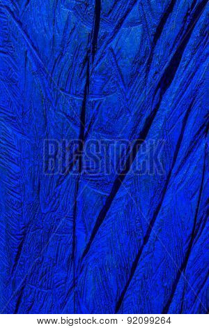 Blue wooden texture in close-up