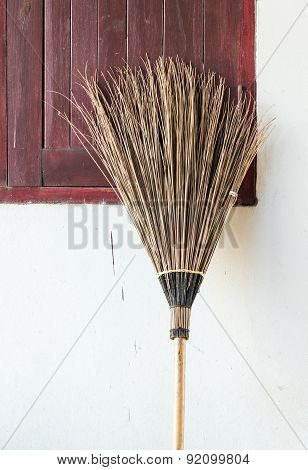 Old Coconut Brooms