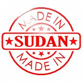 picture of sudan  - Made in Sudan red seal image with hi - JPG