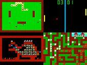 image of pixel  - Set of retro style game pixelated graphics - JPG