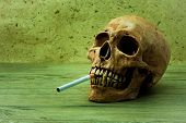 Постер, плакат: Smoking Can Kill You