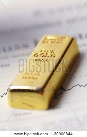 gold bar concept