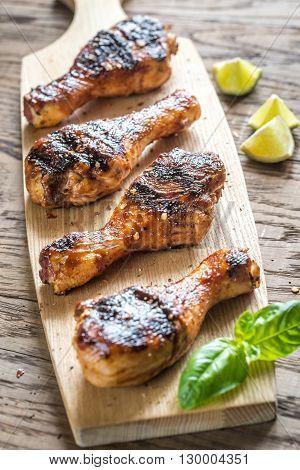 Grilled Chicken Drumsticks
