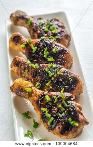 Grilled Chicken Drumsticks
