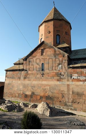 Part of ancient monastery Khor Virap in Armenia. Was founded in years 642-1662.