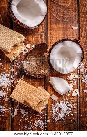 White Chocolate Wafers