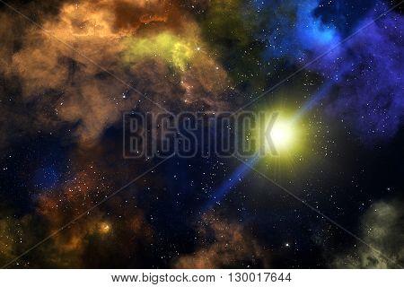 Colorful Nebulas