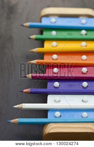School Pencils And Bells