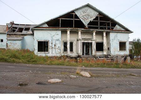 Murmansk Russia North Abandoned Region Russian Federation