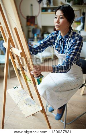 Student of artist