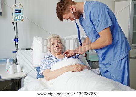 Examination of consulting physician