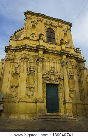 Lecce baroque church chiesa di Santa Chiara