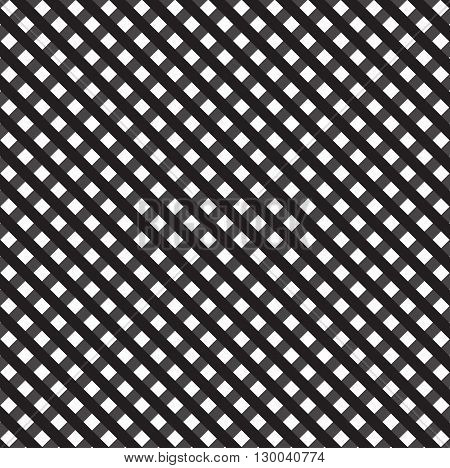 Black and white lattice background.Vector background for your creativity