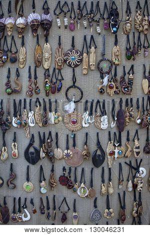 Philippine souvenirs handicrafts market in Cebu Philippines