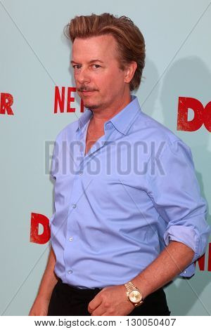 LOS ANGELES - MAY 16:  David Spade at the The Do-Over Premiere Screening at the Regal 14 Theaters on May 16, 2016 in Los Angeles, CA