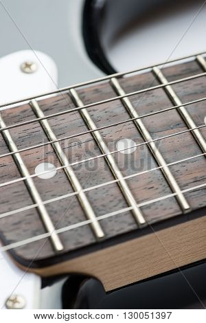 Guitar Frets With Strings