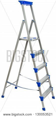 Ladder for construction, isolated on white background