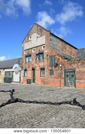Old Warehouse by harbour Kings Lynn England