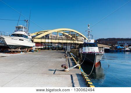 Harbor At Otaru City