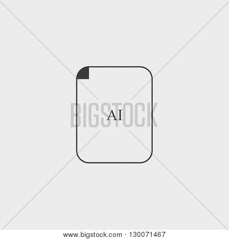 AI Icon AI Icon Vector AI Icon Object AI Icon Image AI Icon Picture AI Icon Graphic