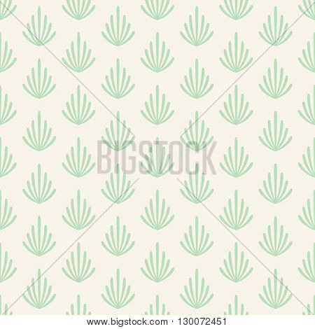 Seamless pattern with branches