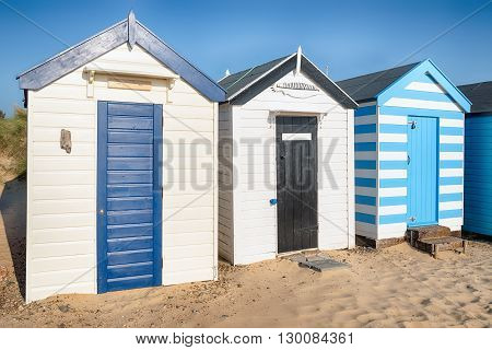 Southwold Beach In Suffolk