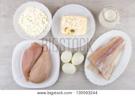 Products Of Animal Origin, Containing Lot Of Protein