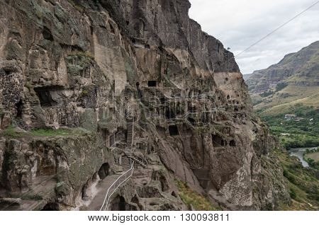 Vardzia Cave Monastery In Samtskhe-javakheti Region, Georgiavardzia Cave Monastery In Samtskhe-javak