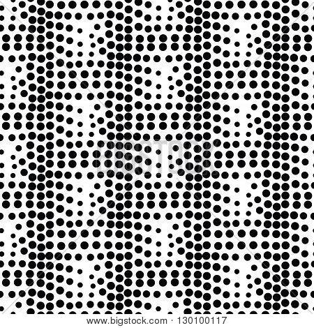 Vector Geometric Square Seamless Pattern