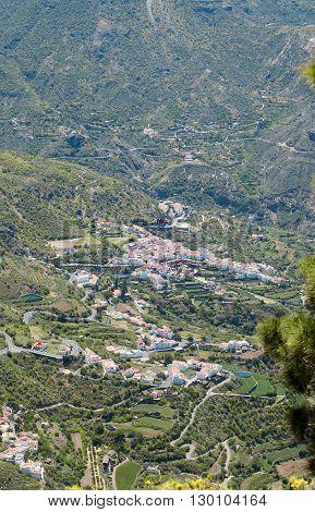 Gran Canaria, Tejeda Village