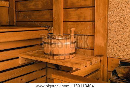 sauna room