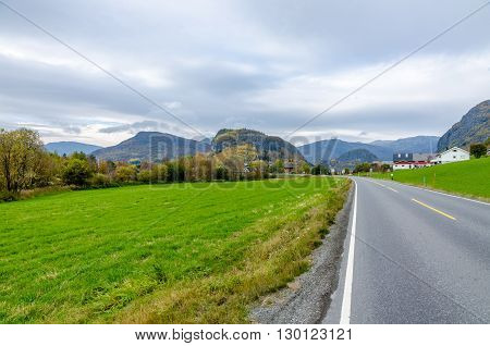 Road In Mountain