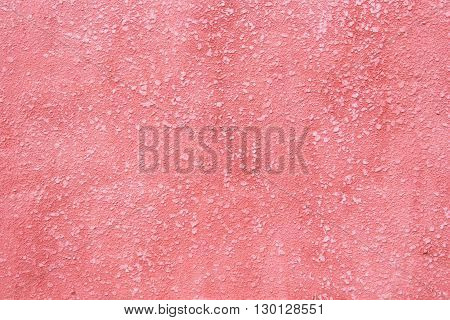 Background from the expressed invoice of a surface of the plastered wall painted pink color