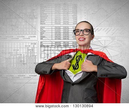 She is super financier