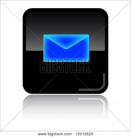 eMail glossy web icon