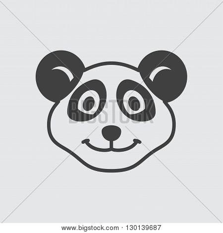 Panda icon illustration isolated vector sign symbol